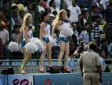 Hyderabad cheergirls