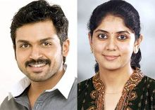 Actor Karthi and Ranjani