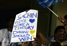Fans during the Mumbai vs Chennai IPL match