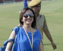 Mumbai team owner Nita Ambani
