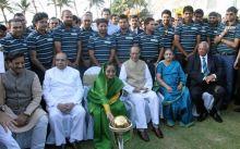 President Pratibha Patil, Team India, World Cup 2011