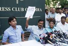Janlokpal Bill: Arvind Kejriwal addresses media