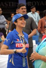 Rajasthan co-owner and Bollywood actress Shilpa Shetty