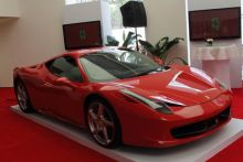 Ferrari launch in New Delhi