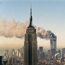 The attack on World Trade Center