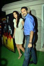 Abhay Deol and Preeti Desai at Ekta Kapoor's bash.