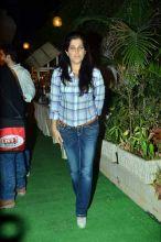 Sabrina Khan at Ekta Kapoor's bash.