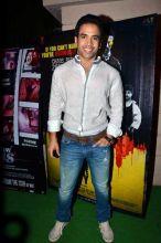 Tusshar Kapoor at Ekta Kapoor's bash.
