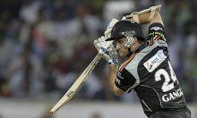 Pune batsman Sourav Ganguly