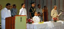 Swearing-in ceremony of Dr. Himanta Biswa Sharma