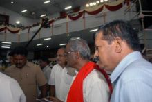 Jayalaithaa's swearing-in ceremony