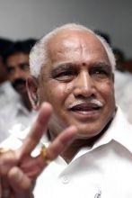 Karnataka Chief Minister BS Yeddyurapa