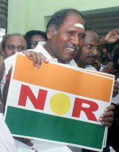 N. Rangasamy all set to become Puducherry Chief Minister
