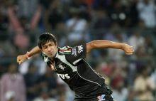 Pune bowler Rahul Sharma