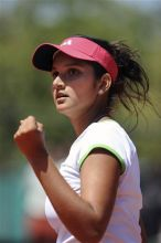 Sania Mirza at the French Open