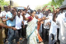 AIADMK party workers