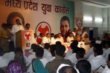Priyavrat Singh addresses media and party workers