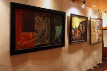 MF Hussain's painting