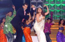 Hrithik Roshan and Preity Zinta
