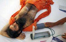 Baba Ramdev a undergoes medical check-up