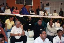Several dignitaries, politicians and senior citizens attend the inaugural function