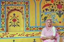 A women devotee at Ajmer Dargah
