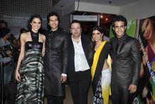 Roshan Abbas, Zoa Morani, Satyajeet Dubey, Ali Fazal and Giselle Monteiro.