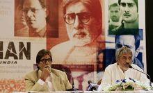 Amitabh Bachchan with Prakash Jha