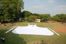 World's largest apron