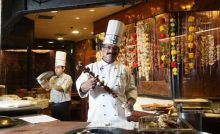 Executive chef J P Singh at Bukhara.