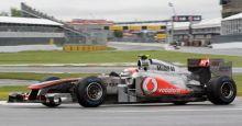 McLaren Mercedes driver Jenson Button