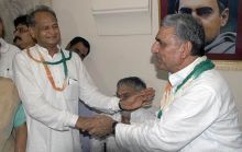 Chandrabhan and Ashok Gehlot