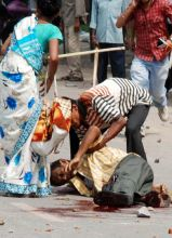 Rally turns violent in Guwahati