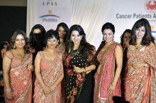 Divya Dutta and Tisca Chopra at Pidilite-CPAA charity fashion show