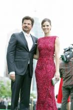 Anil Kapoor and Hilary Swank
