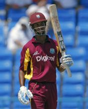 West Indies batsman Lendl Simmons