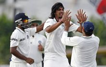 India paceman Ishant Sharma and team-mates