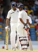 India batsmen VVS Laxman and Suresh Raina
