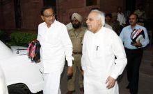 P Chidambaram and Kapil Sibal
