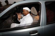 Lokpal panel member Anna Hazare.