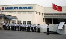 Stir on at Maruti's Manesar plant