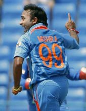 India spinner Amit Mishra