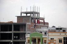 Illegal construction at Kolar Road
