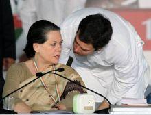 Rahul Gandhi and Sonia Gandhi