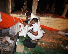 supporters of Baba Ramdev