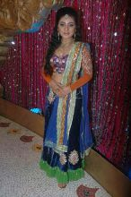 Neha Marda at the mehndi ceremony of Ratan Rajput