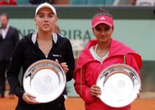 Elena Vesnina and Sania Mirza