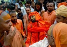 Swami Nigamanand buried