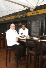Chef Michel and Chef Balasubramanian at Toscano.