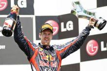 Red Bull's F1 driver Sebastian Vettel